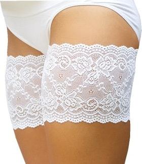 Bandelettes lace white