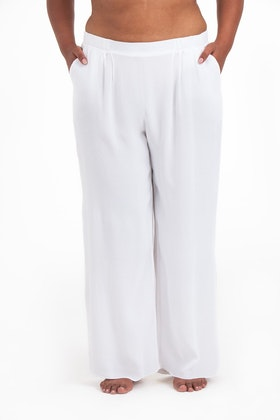Sigrid pants white