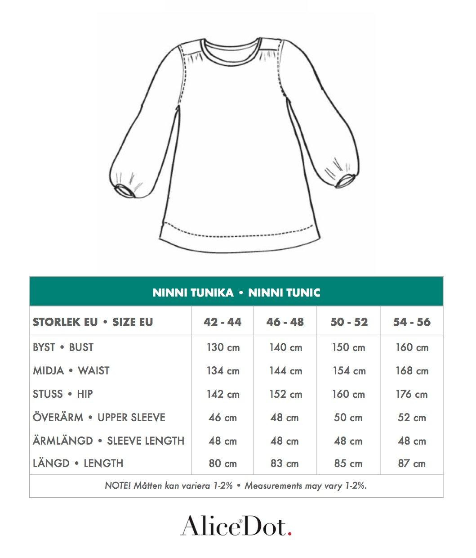 Kolla in vår storleksguide och hitta din storlek.