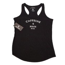 Caffeine and Kilos WOMAN- Grinder Tank - Blue