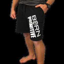 Born Primitive - The Rest Day Sweat Shorts Black
