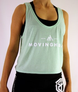 Habits Tank - Crop Tank - Mint