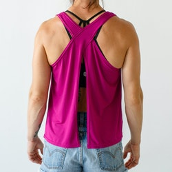 Born Primitive - The Bamboo Convertible Tank - Pink