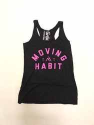 Oldschool Tank - Black/Pink