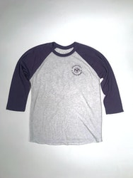 2gen Raglan - Purple/White