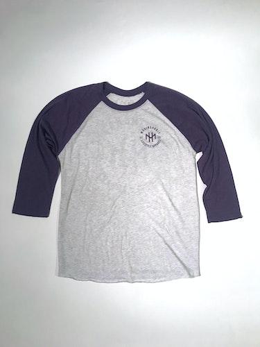 2gen Raglan - Purple/White