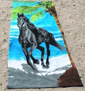 Strandhandduk Häst