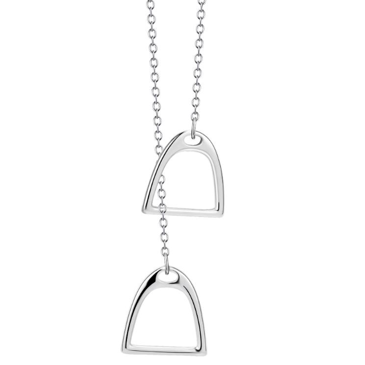 Halsband Stigbyglar, äkta silver