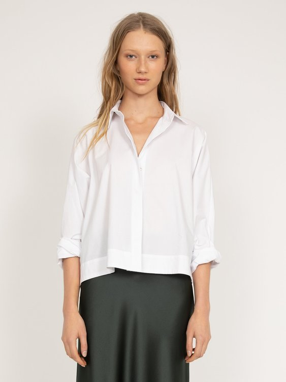 Gigi Shirt White Ahlvar Gallery