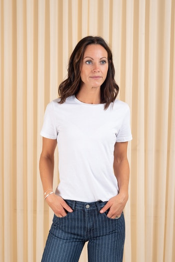 Luna Tee White  Dr Denim