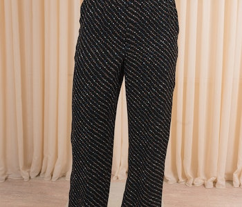 Printed Georgette Pants GANNI