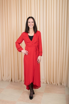 Mullin Georgette Dress GANNI