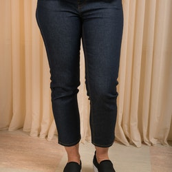Edie Jeans Rinsed Blue 26-längd Dr Denim