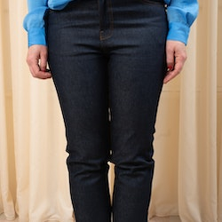 Edie Jeans Rinsed Blue Dr Denim