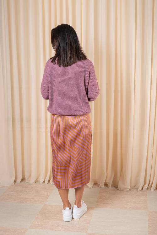Tessa Pleated Skirt MSCH
