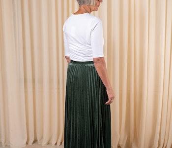 Cotton Stretch Elbow Sleeve White Filippa K