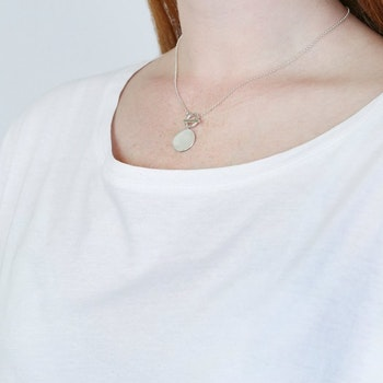 Links True Love Necklace Silver Syster P