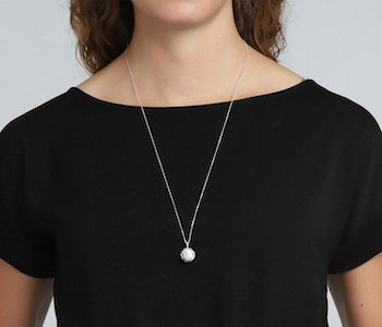 Berta Necklace Silver Pilgrim