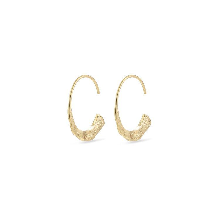 Earrings Valkyria Guld Pilgrim
