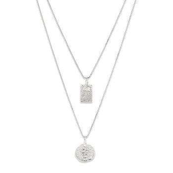 Valkyria Necklace Silver Pilgrim