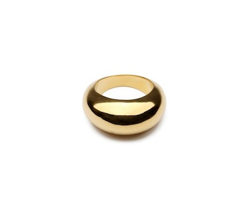Bolded Big Ring Gold