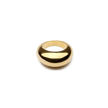 Bolded Big Ring Gold Syster P