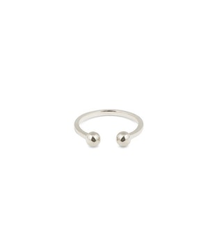 Strict Ball Ring Silver