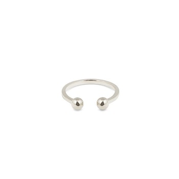 Strict Ball Ring Silver Syster P