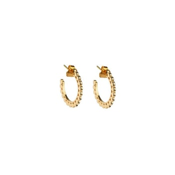 Beaches Small Flat Creols Gold Syster P