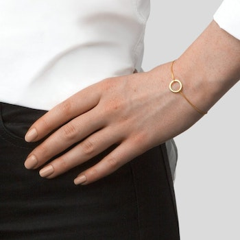 Ring Bracelet Gold Syster P