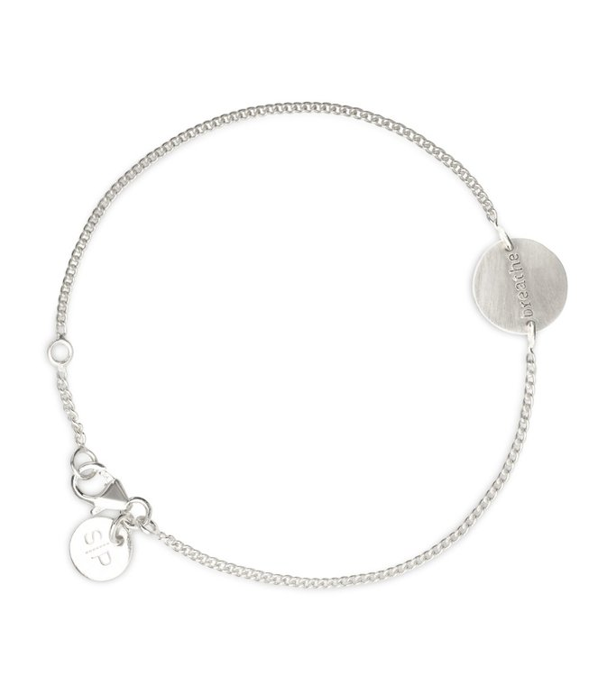 Breathe Bracelet Silver