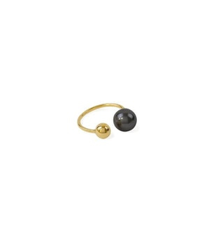 Pearly Ring Black