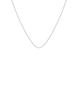 Beloved Short Oval Chain Silver