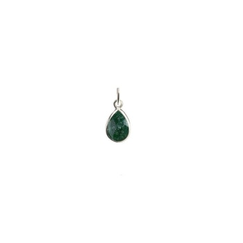 Beloved Stone Pendant Silver Green Aventurine Syster P