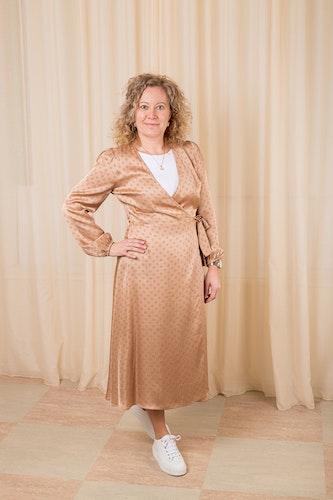 Berri LS Wrap Dress Second Female