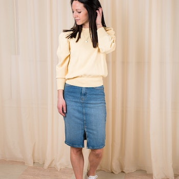 Rikka HW Denim Skirt MSCH