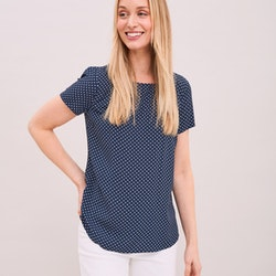 Dotted Top Navy Newhouse