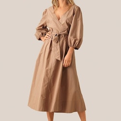 Phoebe Wrap Midi Dress Second Female