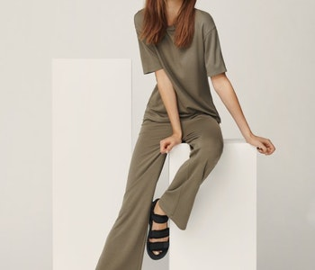 Samine Modal Straight Pants