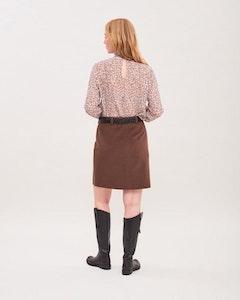 Penny Moleskin Skirt Newhouse