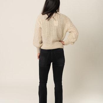 Emilinda HW Flared Jeans 7/8 Gestuz