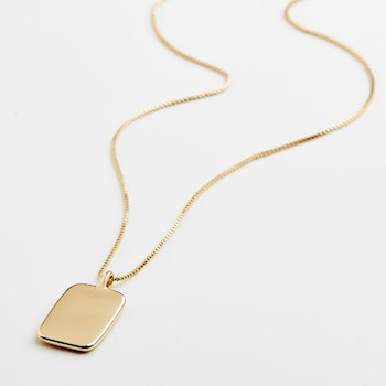 Intuition Gold Necklace Pilgrim