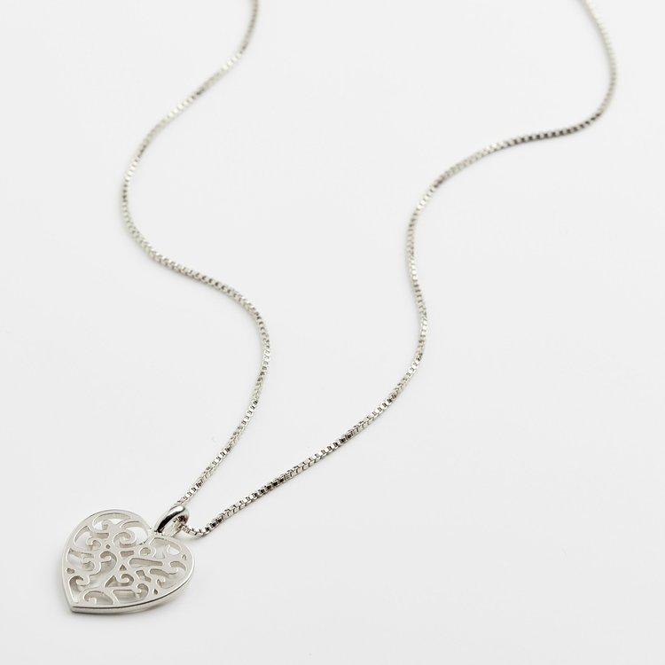 Felice Silver Necklace
