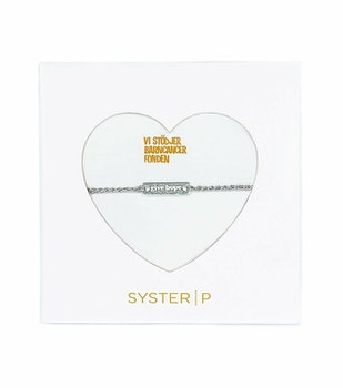 Give Hope Silver Metallic Syster P