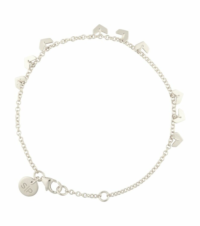 Layers Bianca Bracelet Silver Syster P