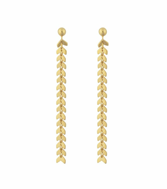 Layers Olivia Earring Gold Syster P