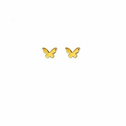 Butterfly Love Stud Earring Gold Syster P
