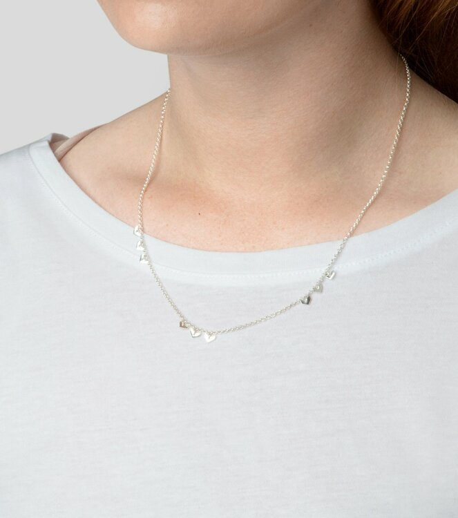 Layers Bianca Necklace Silver Syster P