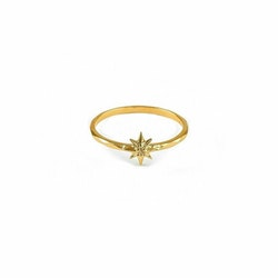 North Star Small Ring Gold Syster P
