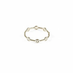 Treasure Shimmer Ring Gold Multi Syster P